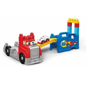 Set constructie Mega Bloks Camion Transportor 15 piese2