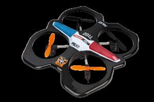 Drona Carrera RC Police Quadrocopter0