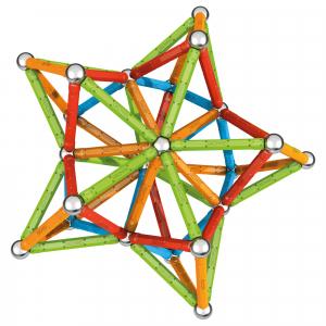 Set de constructie magnetic Geomag, Confetti, 127 piese1