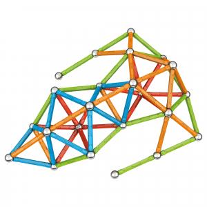 Set de constructie magnetic Geomag, Confetti, 127 piese4