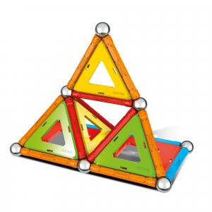 Set de constructie magnetic Geomag, Confetti, 88 piese2