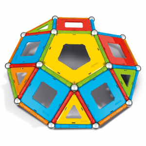 Set de constructie magnetic Geomag, Confetti, 88 piese1