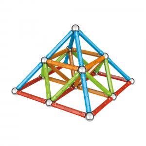 Set de constructie magnetic Geomag, Confetti, 88 piese5