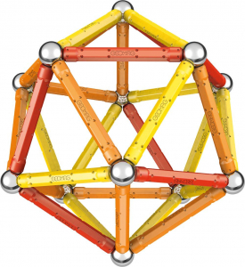 Set de constructie magnetic Geomag Editie Speciala Leonardo da Vinci 67 piese [2]