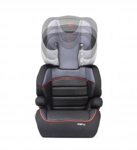 Scaun auto Babyauto Jan FIX PLUS, Isofix, 15-36 Kg, Negru/Gri7