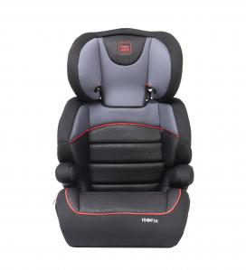 Scaun auto Babyauto Jan FIX PLUS, Isofix, 15-36 Kg, Negru/Gri [4]