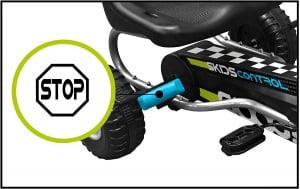 Cart Stamp Skids Control cu pedale, volan si frana de mana1
