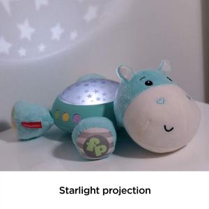 Lampa de veghe Fisher Price, Hippo de plus cu proiector si muzica6