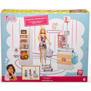 Set joaca Barbie, Supermarket, Mattel2