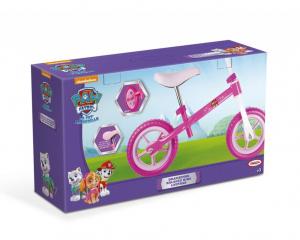 Bicicleta fara pedale D'arpeje Paw Patrol Roz/Alb3