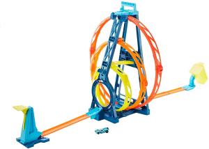Set de joaca Hot Wheels Triple loop kit0