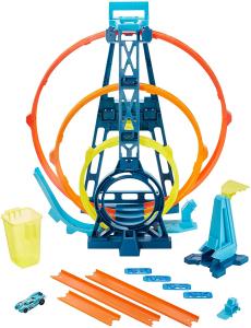 Set de joaca Hot Wheels Triple loop kit4