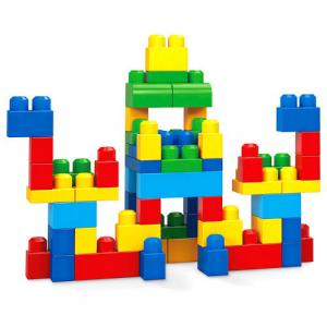 Set Fisher-Price Cuburi Colorate de Construit Mega Bloks 60 de piese [1]