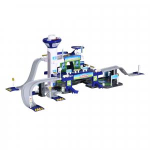 Set de joaca Majorette Creatix Aeroport, 5 vehicule incluse5
