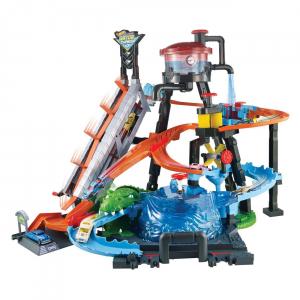 Set de joaca Hot Wheels, Ultimate Gator Car Wash [1]