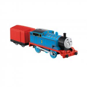 Thomas Trenulet Locomotiva Motorizata cu Vagon Thomas&Friends Track Master0