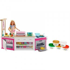 Set de joaca Mattel Barbie Bucatarie utilata2
