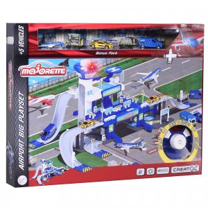 Set de joaca Majorette Creatix Aeroport, 5 vehicule incluse0