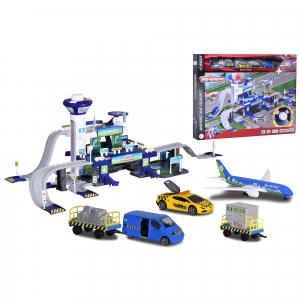 Set de joaca Majorette Creatix Aeroport, 5 vehicule incluse4