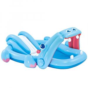 Centru De Joaca Cu Piscina Intex - Hippo 221x188x86 cm0