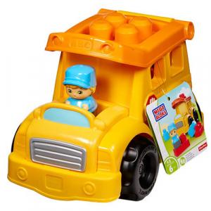 Autobuz Fisher-Price Scolar cu Cuburi Mega Bloks0