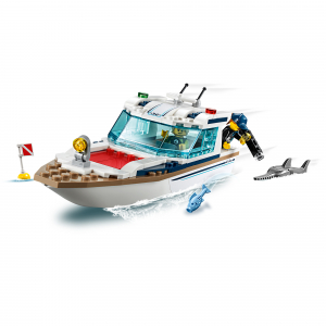 LEGO® City Great Vehicles - Iaht pentru scufundari 602211