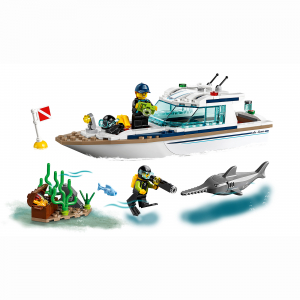 LEGO® City Great Vehicles - Iaht pentru scufundari 602214