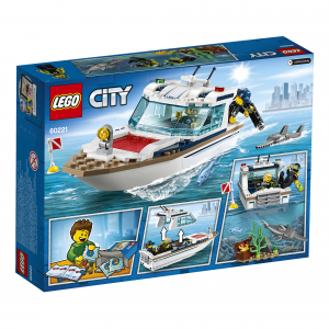 LEGO® City Great Vehicles - Iaht pentru scufundari 602216