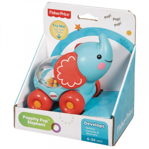 Vehicul Poppity elefant Fisher-Price1