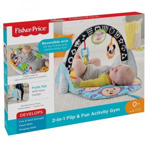 Jucarie interactiva Fisher-Price Saltea 2 in 1 pliabila cu activitati [0]