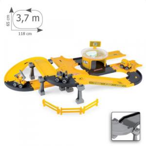 Circuit Constructii autostrazi cu masini Kid Cars 3D 3,7 m [10]
