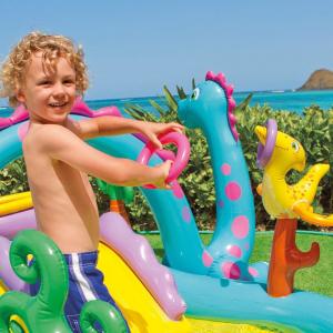Centru de joaca cu piscina Intex Dinoland 333x229x112 cm4