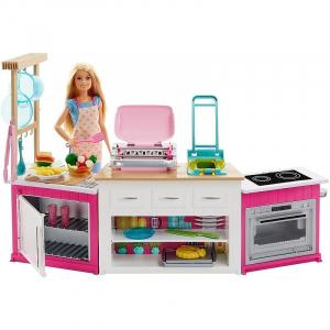 Set de joaca Mattel Barbie Bucatarie utilata0