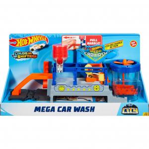 Set Hot wheels mega car wash0