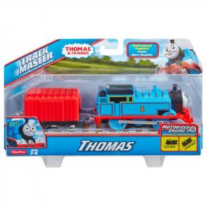 Thomas Trenulet Locomotiva Motorizata cu Vagon Thomas&Friends Track Master1