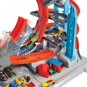 Garaj Mega Garage City Box Hot Wheels2