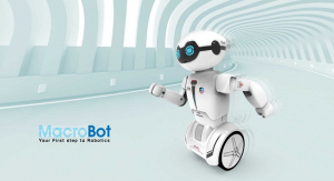 Robot programabil Silverlit Macrobot, telecomanda, rosu4