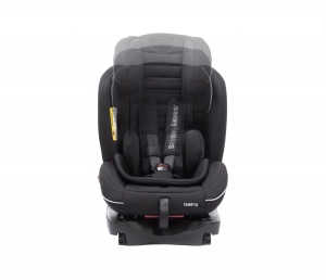 Scaun auto BABYAUTO INFINITY Fix, Dual Isofix, 0-36 kg, catarama cu alarma, Negru/Gri7
