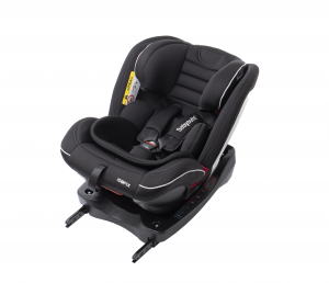 Scaun auto BABYAUTO INFINITY Fix, Dual Isofix, 0-36 kg, catarama cu alarma, Negru/Gri8