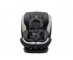 Scaun auto BABYAUTO VOLTA, Isofix, rotatie 360 grade, 0-36 kg, Negru/Gri2