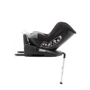 Scaun auto BABYAUTO MORE LENNOX, Isofix, rotatie 360 grade, picior suport, 0-18 kg, Negru/Gri5