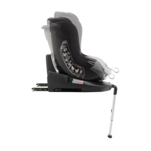 Scaun auto BABYAUTO MORE LENNOX, Isofix, rotatie 360 grade, picior suport, 0-18 kg, Negru/Gri8