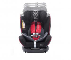 Scaun auto BABYAUTO MORE WERDU RWF, Dual Isofix, 0-36 kg, Gri/Rosu4