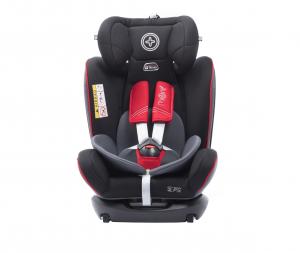 Scaun auto BABYAUTO MORE WERDU RWF, Dual Isofix, 0-36 kg, Gri/Rosu3