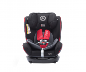 Scaun auto BABYAUTO MORE WERDU RWF, Dual Isofix, 0-36 kg, Gri/Rosu2