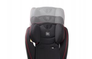 Scaun auto BABYAUTO TAIYANG, reversibil, 0-36 kg, Negru/Rosu5