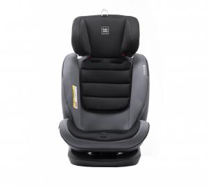 Scaun auto BABYAUTO VOLTA, Isofix, rotatie 360 grade, 0-36 kg, Gri8