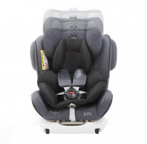 Scaun auto BABYAUTO MORE WERDU PLUS, Dual Isofix, 0-36 kg, Gri/Negru5
