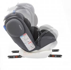 Scaun auto BABYAUTO MORE WERDU PLUS, Dual Isofix, 0-36 kg, Gri/Negru9