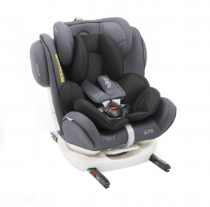 Scaun auto BABYAUTO MORE WERDU PLUS, Dual Isofix, 0-36 kg, Gri/Negru0